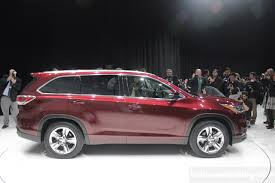 2014 Toyota Highlander revealed in New York (Live)