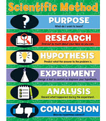 Scientific Method Chart Grade 4 8