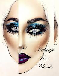 Eye Makeup Face Charts Makeupview Co