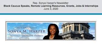 Rep. Sonya Harper's Newsletter June 3,... - State Representative Sonya  Harper | Facebook