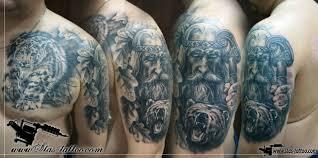славянские татуировки для мужчин на плече фото суровые русские