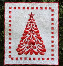 Christmas Quilt Patterns Best Feathered Christmas Quilt Pattern The National Quilt Museum