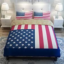 Amazon Sport do Well design American Flag Bedding Set