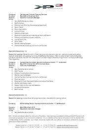 Cleaner Job Description For Resume Fresh Cleaning Resume Samples