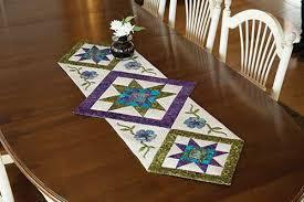 Star Flower Table Runner Quilt Pattern | Keepsake Quilting &  Adamdwight.com