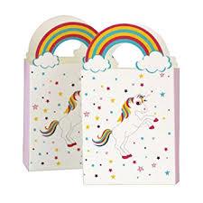 Amosfun <b>20pcs</b> Unicorn Paper <b>Gift</b> Bags Candy Chocolate Boxes ...