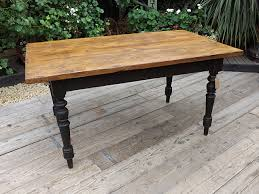 fabulous old antique 1 6m 5 3ft pine painted kitchen dining table