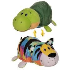 «<b>Мягкая игрушка 1Toy</b> Радужный тигр-Черепаха 40 см ...