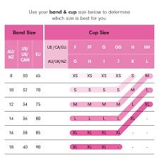 Candies Size Chart Sugar Candy Fuller Bust Seamless Nursing Bra