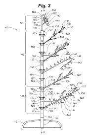 patent us modular lighted tree trunk electical patent drawing