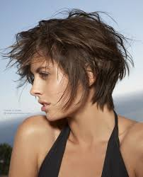 Bed Hair Style short haircut with volume styled for a bed head look 7671 by stevesalt.us