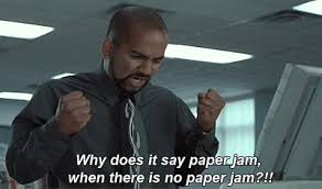 office space pic. fine pic why does it say paper jam office space for pic