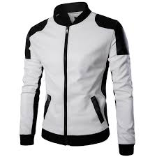 white jacket mens white leather jacket mens