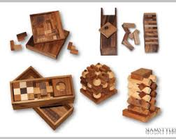 Wooden Games For Adults Our Young Adults curated by ART INSPIRATION Ovation TV on Etsy 1