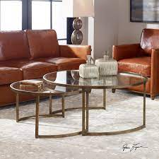 uttermost rhea nested coffee tables