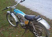honda tl125 cyclechaos 1974 honda tl125 in silver blue