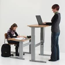 height adjustable office desk. Conset 501-27 Height Adjustable Desk With 72\u0026quot; X 30\u0026quot; Office L