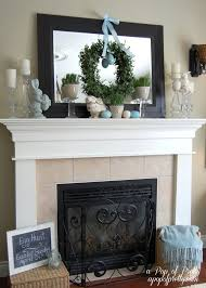 three easter mantels other easy easter decorating ideas