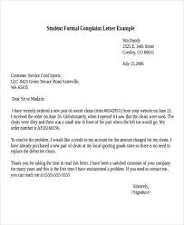complaint letter examples complaint letter example 12 complaint letter templates free