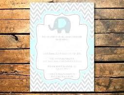 Birthday Invitation Cards Size Baby Elephant Invitations Best