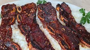 flanken style flat ribs with homemade