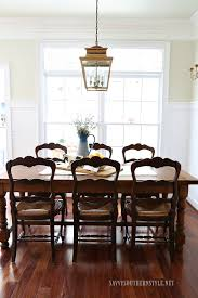 french country breakfast room with antique table and chairs from france plus more inspiration
