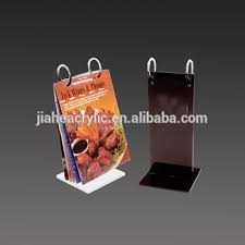 Menu Display Stands Restaurant Unique Roll Acrylic Menu Stand Table Stand Flip Menu Holder Restaurant Menu