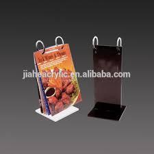 Menu Display Stands Restaurant Roll Acrylic Menu Stand Table Stand Flip Menu Holder Restaurant 31