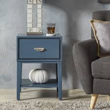 Niko 1-Drawer Side Table with Shelf iNSPIRE Q Modern - Free Shipping Today  - Overstock.com - 22350866