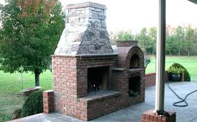 cool outdoor fireplace and pizza oven c5071223 outdoor fireplace pizza oven combo plans