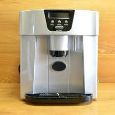 countertop ice maker machine pm75 newair clearice40 clear makes 40 lbs of portable stainless steel