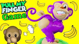 <b>FUNNY</b> Board Game Monkey <b>Pull</b> My Finger Kids <b>Toy</b> Review + ...