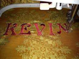 How To Use Sewing Machine To Embroider Letters