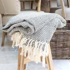 sofa throws. black and cream woven throw introducing hygge u2013 our favourite new excuse to snuggle sofa throws