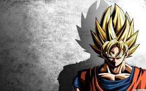 SSJ Goku powerful HD wallpaper download