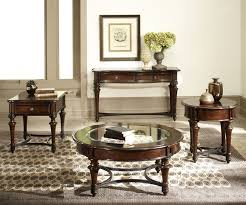 kingston plantation occasional tables in hand rubbed cognac finish by liberty furniture lib 720 ot1011