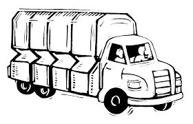 Pickup truck clipart black and white free 3 - Clipartix