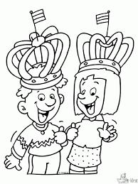 Kroon Koningsdag Kleurplaat Kids N Fun De 9 Ausmalbilder Von