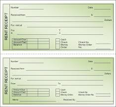 examples of rent receipts rental receipt template format of landlord rent receipt template