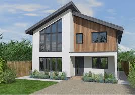 Home Design And Build Graven Hill Village Exterior Design Self Build Houses