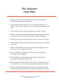 the alchemist essay eleven essay titles the alchemist by ben eleven essay titles the alchemist by ben jonson home page