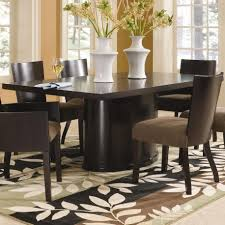 small rectangular kitchen table sets unique dark wood double pedestal dining table fantastic small rectangular collection