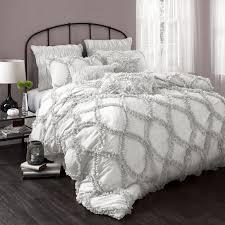Light Gray Comforter Set Queen Brilliant Light Gray Bedding Awesome Grey Duvet Cover Set