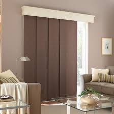 exterior sliding glass doors with blinds curtains double fabric vertical interior most seen k on design inspiration