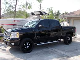 Leveling Kit for GMC Sierra 2010.. Tire Questions.. - The Hull ...