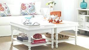 beach house coffee tables cottage white square table beach house coffee tables cottage white square table