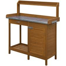 Potting Bench Convenience Concepts Planters And Potts Deluxe Potting Bench With