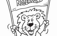 Voetbal Kleurplaat Mooi Kleurplaat Voetbal Logo Nederland Archidev