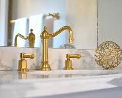 gold bathroom faucet. Brushed Gold Bathroom Faucet White And Bathrooms Transitional O
