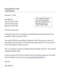 Letter Of Recommendation For Employee Sample Samples Of Letter Recommendation Basic Example For College
